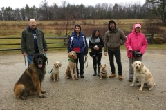 Leo Monte Marshal Zlash Chester hike Beaver Brook Dec 2015